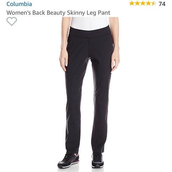 Columbia Womens Back Beauty Skinny Leg Pant